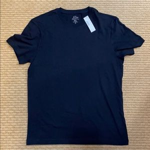 JCrew Men's Essential Tee Black Size S
